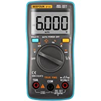 Seefoun SF102 Digital Multimeter LCD backlight Amp Volt Ohm Voltage Temperature Capacitance Frequency Diode Duty cycle On-off Pocket Mini Digital Multimeter