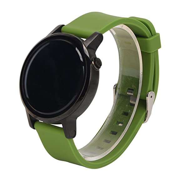 Amazon.com: 20MM Watch Bands Pinhen Silicone Strap Band with ...