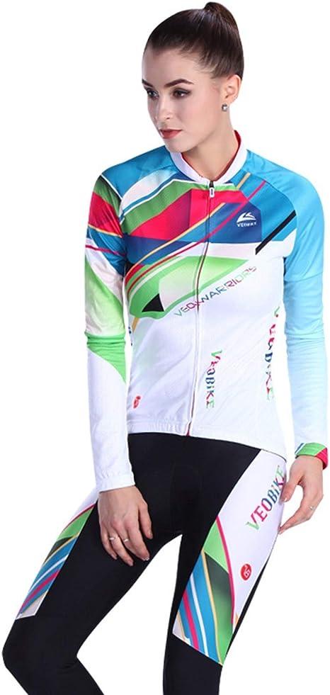 Beydodo Ropa Ciclismo Mujer Accesorios de Ropa de Bicicleta Al ...