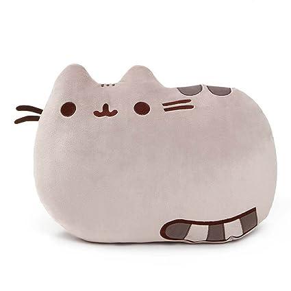 Amazon.com: GUND Pusheen - Almohada de peluche para gato ...