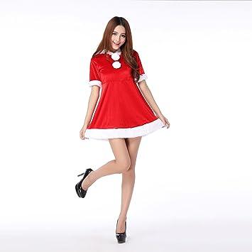 Frauen Santa Kostüme Weihnachten Nette Weihnachtsmann Kleider Rote ...