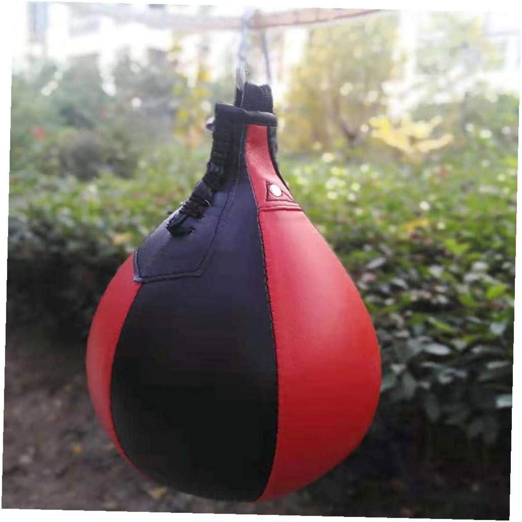 YZLSM H/ängende Boxen Kugel Pu-Leder Birnenf/örmig Professional Boxing Stanzen Geschwindigkeit Dodge Ball F/ür Den T/äglichen Taschen F/ür Boxen Speed ??Bag Doppel