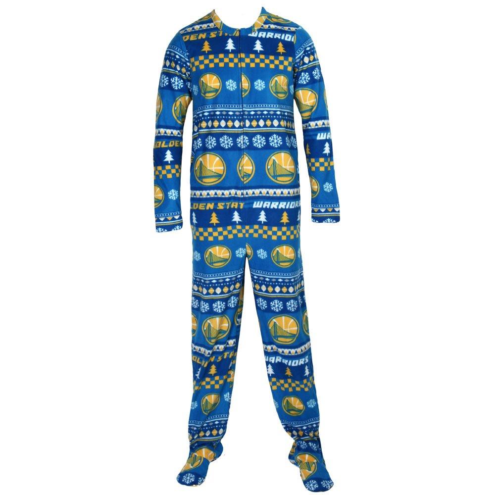 College Concepts SLEEPWEAR メンズ 3L Golden State Warriors Holiday B01MDM200Z