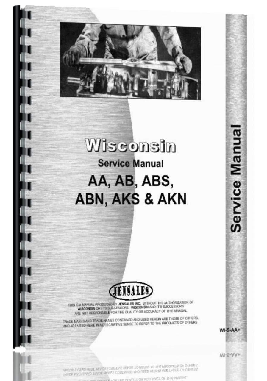 AKN INSTRUCTION BOOK /& PARTS LIST WISCONSIN ENGINE ABN