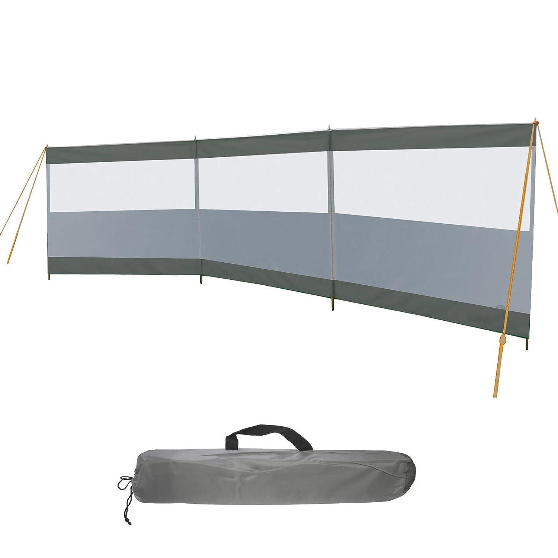 Bo-Camp Windschutz Season 500x140 Camping Sichtschutz XL Garten Strand Robust
