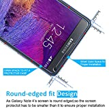 [2 Pack] iVoler [Tempered Glass] Screen Protector for Samsung Galaxy Note 4, [0.2mm Ultra Thin 9H Hardness 2.5D Round Edge] with Lifetime Replacement Warranty