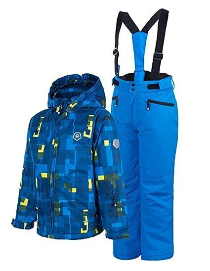 Color Kids - Abrigo para la Nieve - para niño Azul 24 Meses: Amazon.es: Ropa y accesorios