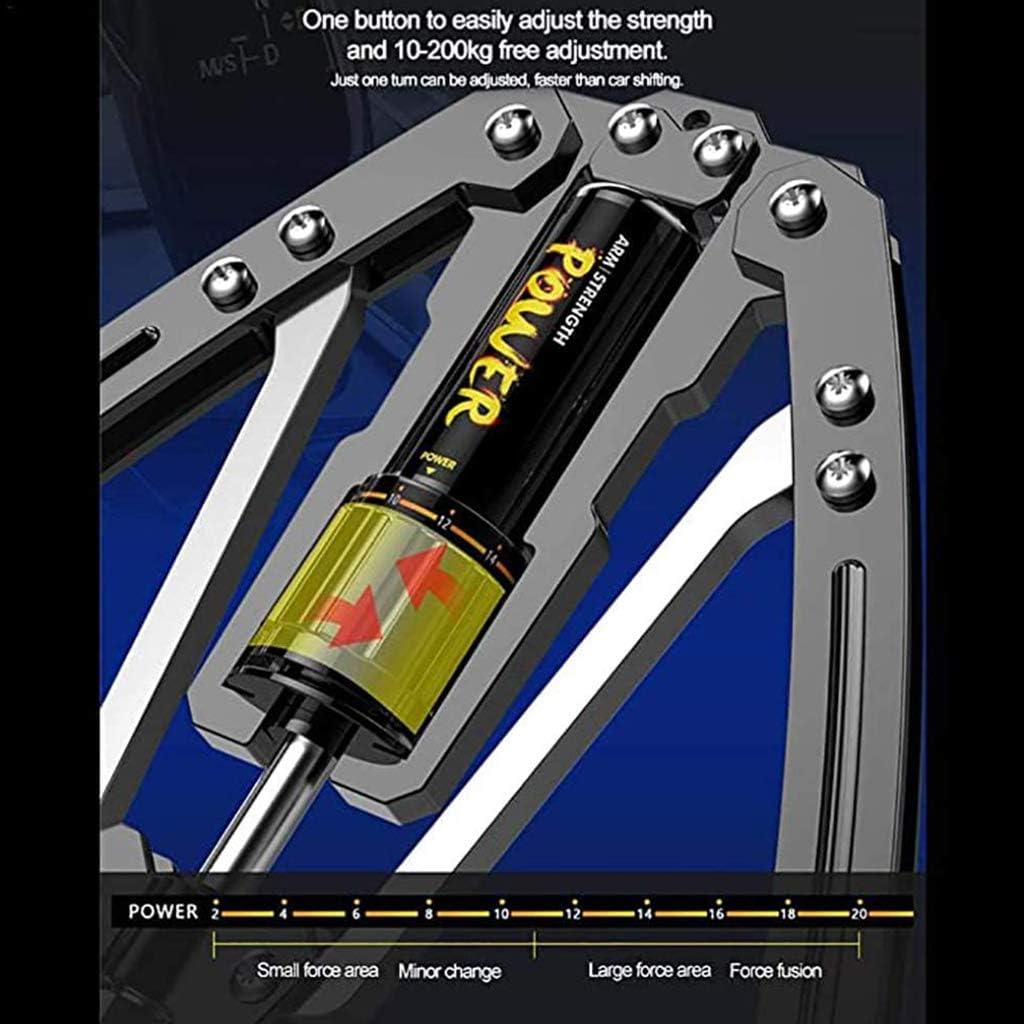 Ejercicios De Brazo Ajuste De Fuerza De 10-200 Kg DFANCE Expansor De Pecho Power Twister 4 En 1 Entrenador De Fuerza Ajustable Ejercitador De Tir/ón Ejercitador De Ejercicio En Casa