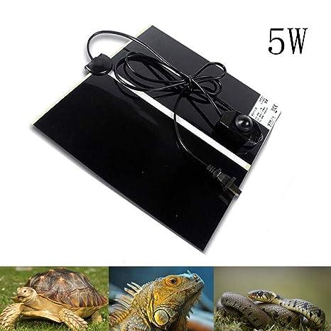 AUOKER Manta Termica Reptiles, 5W/7W/20W Ajustable Reptil Heat Mat ...
