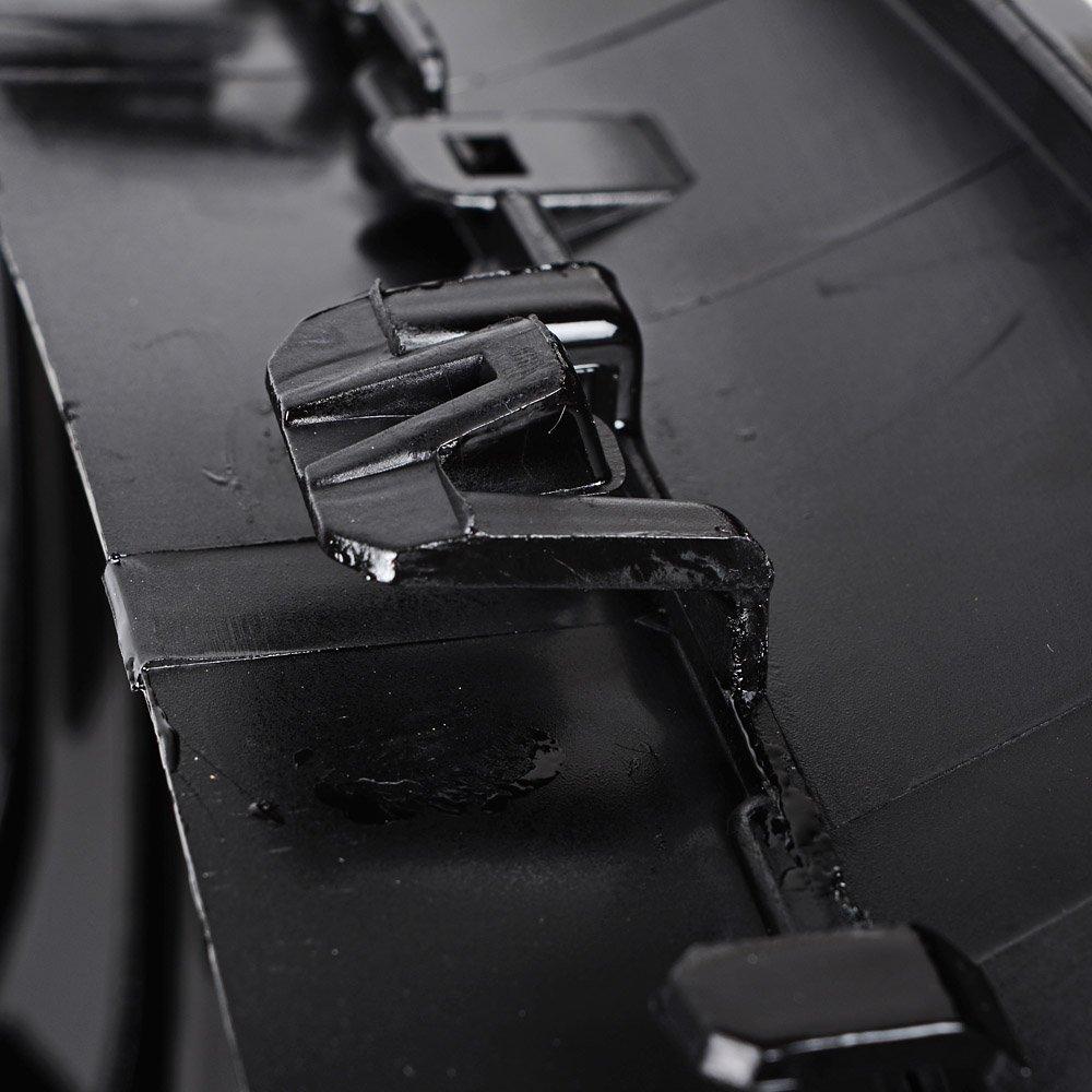 Glossy Black Black Euro Front Upper Kidney Grille Grill For BMW F10 5-Series 4-Door Sedan 520i 523i 525i 528i 530i 535i 550i 2010 2011 2012 2013 2014