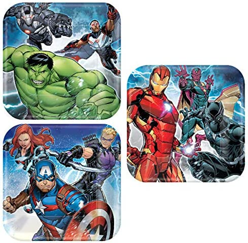 Amazon.com: Lobyn Value Packs Marvel Epic Vengers Party ...