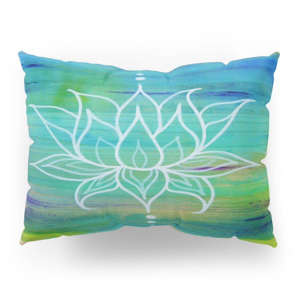 Society6 Lotus Love Pillow Sham Standard (20'' x 26'') Set of 2 by Society6 (Image #1)