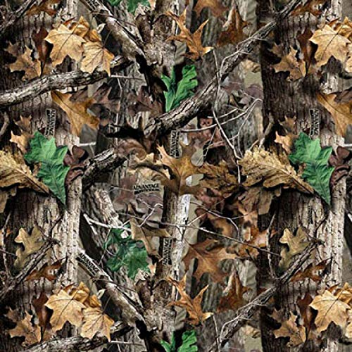 Real Tree Plain RT Camo in Multi Flannel Fabric by The ()