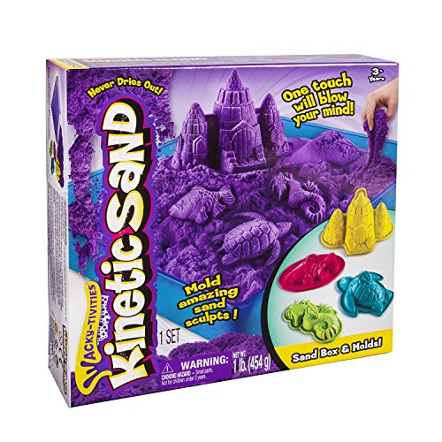 Spin Master 6028092- Kinetic Sand - Box Set (454 g) - farblich sortiert