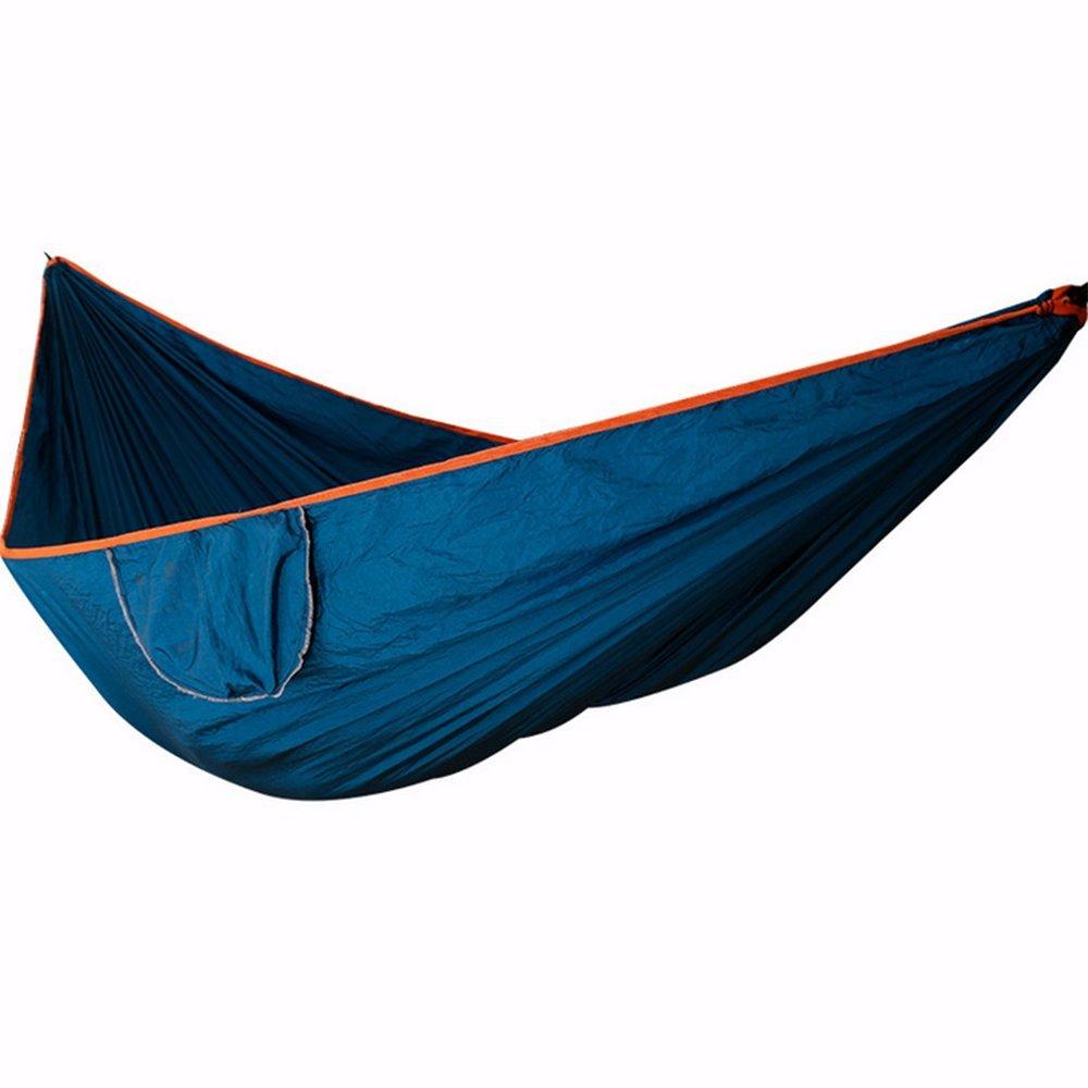 Xhh Hängematte 210T Nylon Tuch Doppel Hängematte Paar Hängematte Air Hängematte Outdoor Camping Hängematte