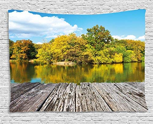 Landscape Tapestry New York City Central Park in