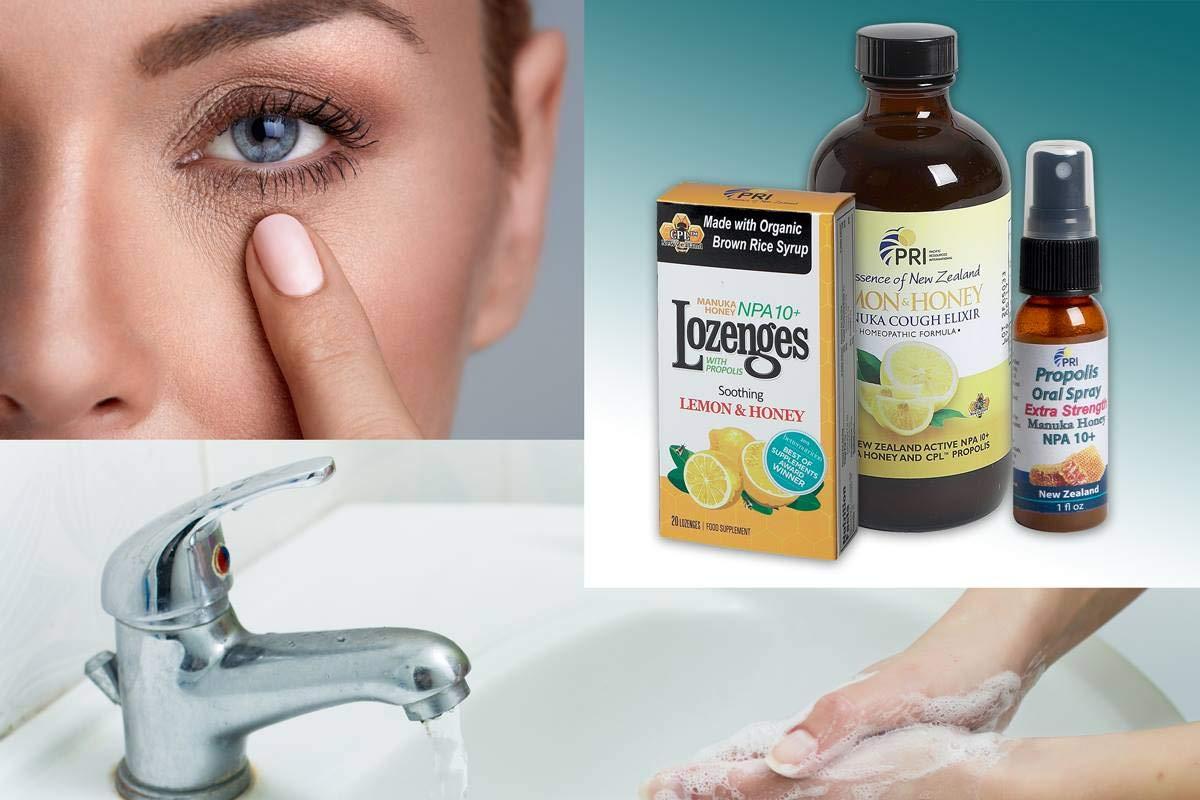 Amazon com : PRI Propolis Manuka Honey Oral Spray 2fl oz