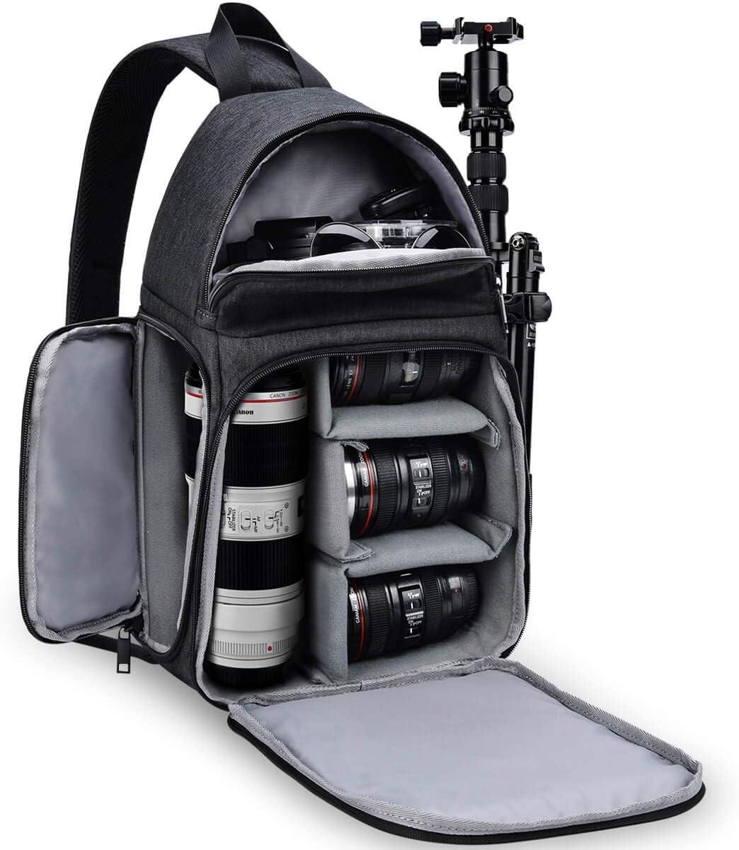 Waterproof Sling Backpack DSLR SLR Camera Case Single Shoulder Bag for Nikon