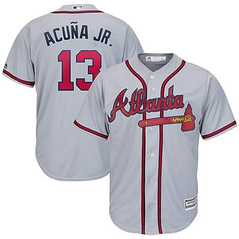 huge discount ba045 82f1a Jersey Ronald Acuna Acuna Acuna Amazon Ronald Acuna Amazon ...