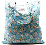 Cath Kidston Cotton Book/Tote Bag 'Parakeets' in True Blue