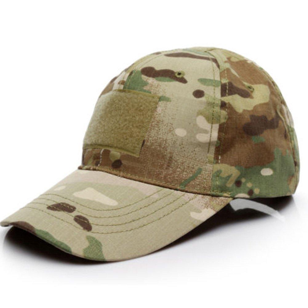 GEZICHTA Cappello da Baseball Multi Elegante Camo Morbido Berretto Forze Speciali operatore Army