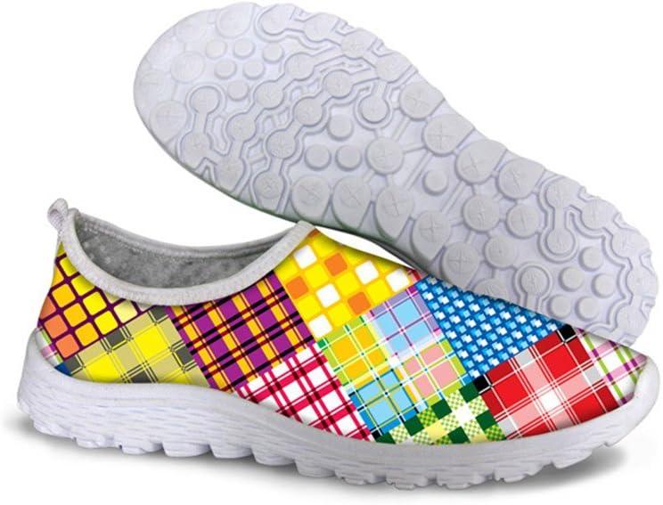 Piup - Zapatillas de Running Unisex para Mujer, diseño Floral, Unisex Adulto, C074, 42: Amazon.es: Deportes y aire libre