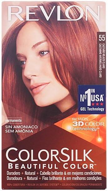 Revlon Colorsilk Sin Amoniaco 55 Rojizo Claro