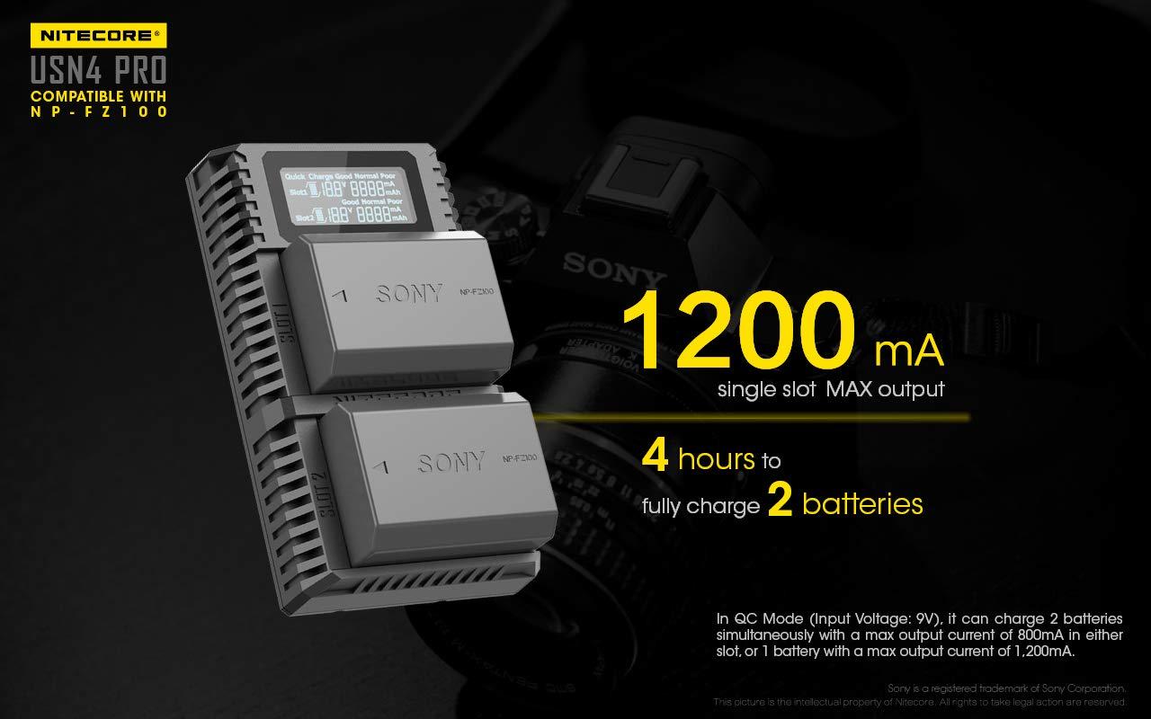Amazon.com: NITECORE USN4 Pro Digital QuickCharge 2.0 ...