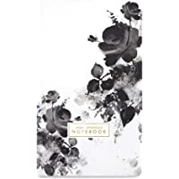7mm™ Lively Botanicals (Winter), 144 Pages, Softbound Notebook, Gold Edges, 12.5 x 21 cms, Ruled