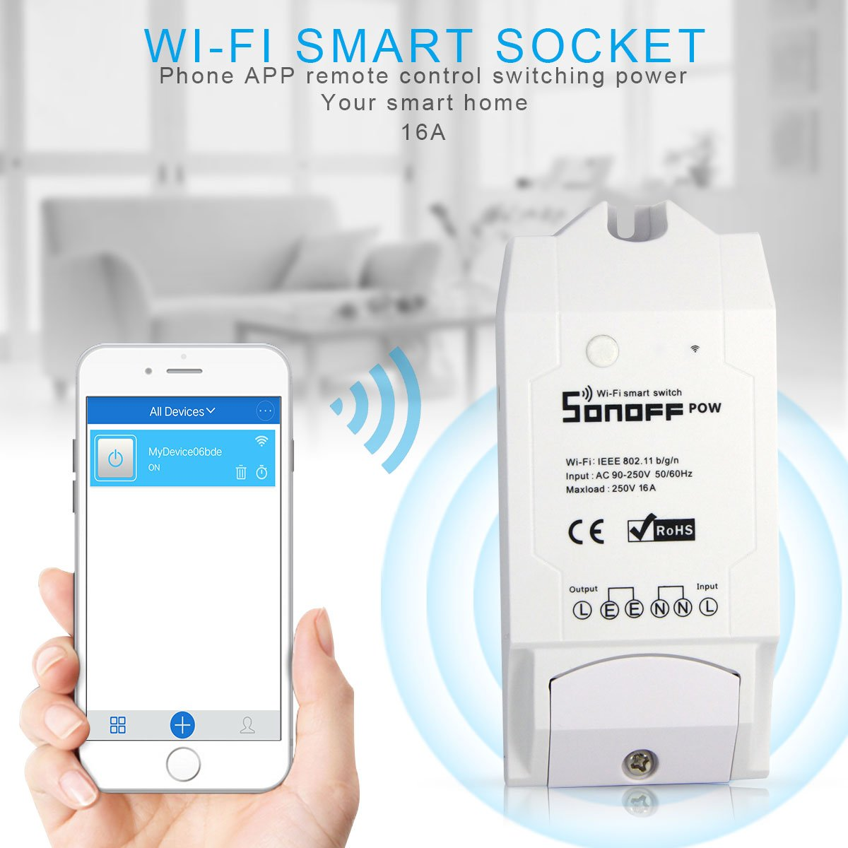 Sonoff Pow Drahtlose Wifi Schalter On Elektronik Light Switches In A Mobile Home Electrical Diy Chatroom