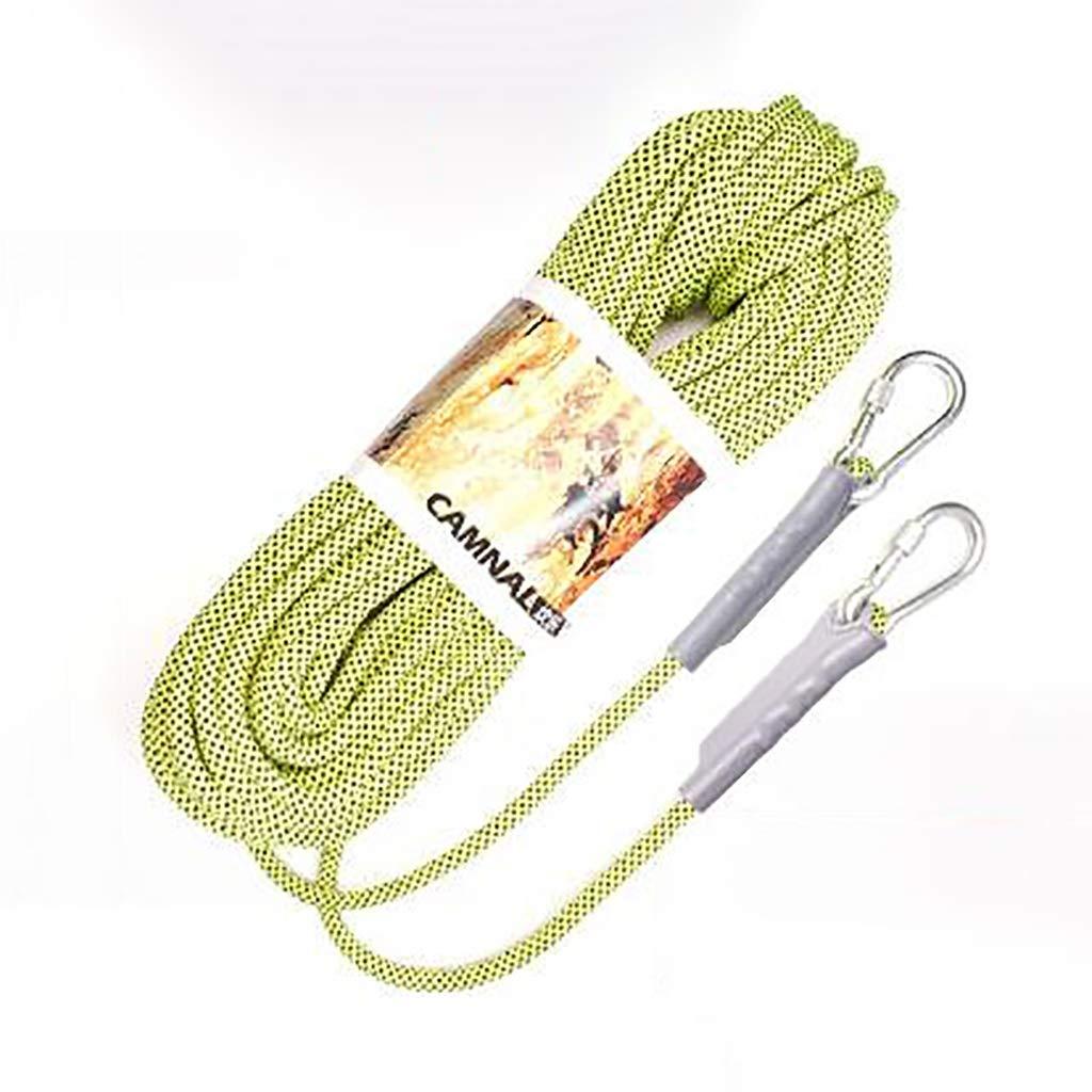 C TLMYDD Corde de Levage Corde de Camping Escalade Escalade Conduite sur Route plongée Couleur résistant à l'usure Taille en Option Cordes (Couleur   B, Taille   12mm 20m) 10.5mm 20m