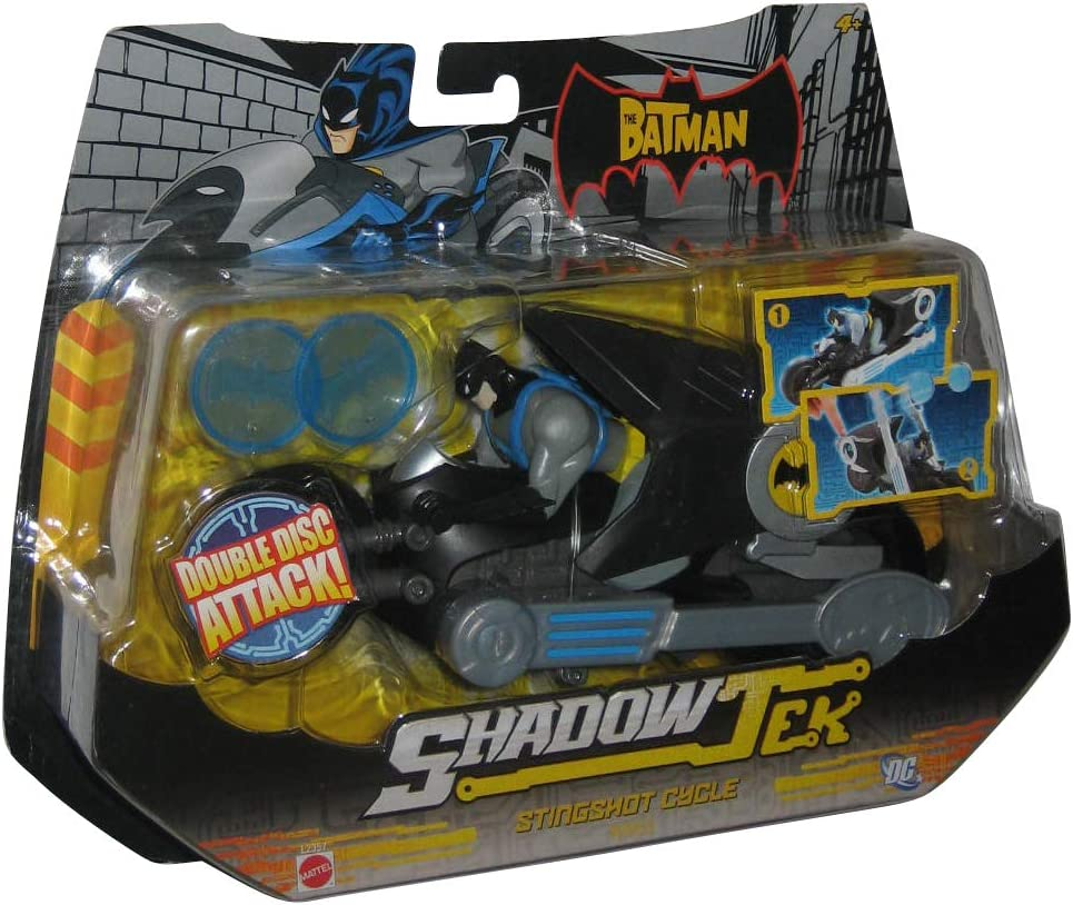 Batman Action Figure Riding Shadowtek Stingshot Cycle