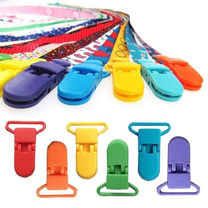 Resina Titular Chupete Artesanales Insignia Clips Ficticias 39x16mm Color 10pcs Mixta