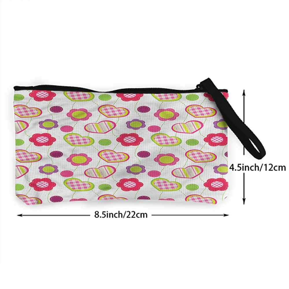 Pouch Bag Case Flower,Flower X-Ray Picture,Coin bag For Girls,Ladies,Womens