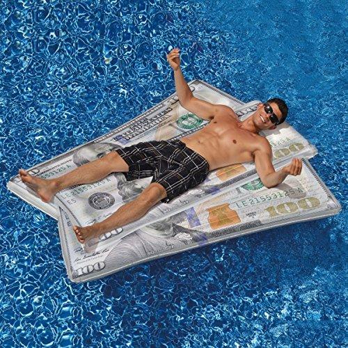 Swimline Ben Franklin Money Mat Pool Float