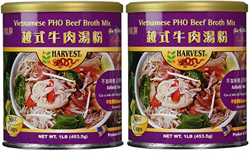 (Authentic PHO Beef Broth Mix Vietnamese soup (Gluten Free) 2 Pack)