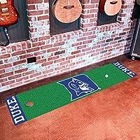 FANMATS NCAA Duke University Blue Devils Nylon Face Putting Green Mat