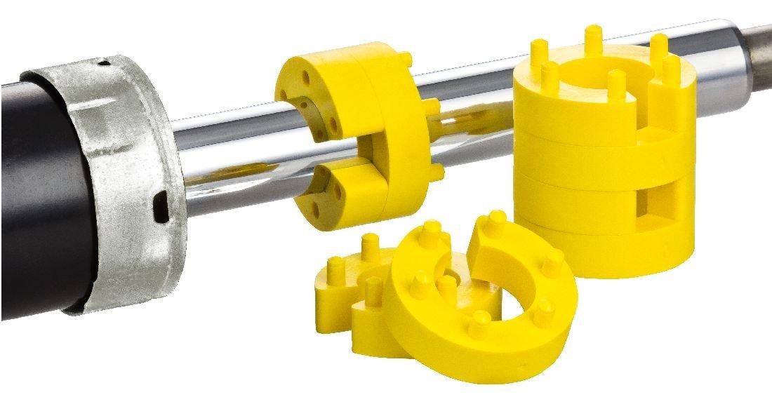 BREHMA Federwegbegrenzer Yellow Stick 25mm 8er Set universell Federwegsbegrenzer