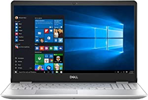 "Dell Inspiron 15 i5584-5360SLV-PUS Laptop 15.6"" FHD Touchscreen i5-8265U up to 3.9GHz, 12GB DDR4 RAM, 256GB SSD + 16GB Optane Windows 10 (Renewed)"