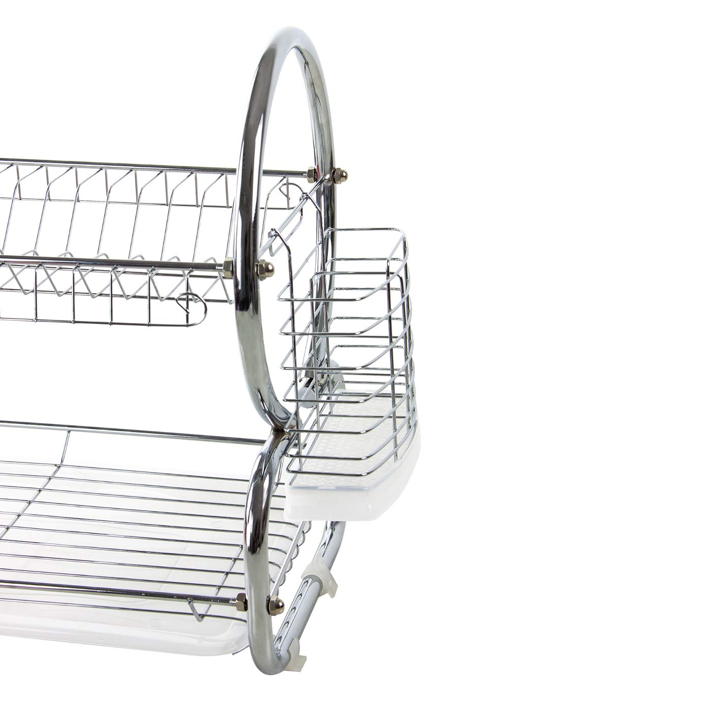 REGULAR SIZE HIGH QUALITY CHROME PLATED FINISH DISH DRAINER ELITE PRO 9OO Series