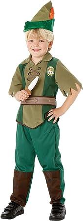 Rubies`s - Disfraz infantil de Peter Pan Deluxe (883976-M): Amazon ...