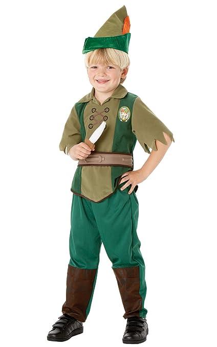 Rubies`s - Disfraz infantil de Peter Pan Deluxe (883976-L)