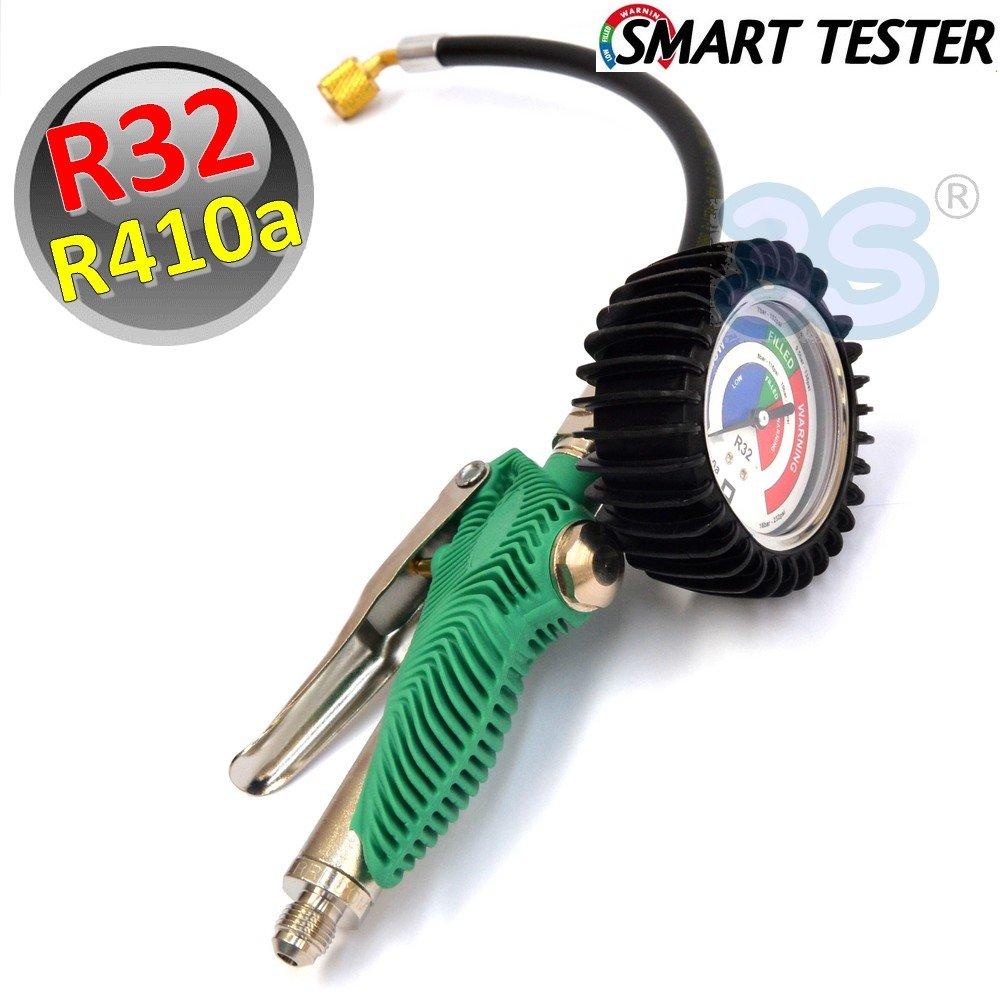 Smart tester per carica e ricarica impianti R32 ed R410a in metallo SUPERSAMASTORE