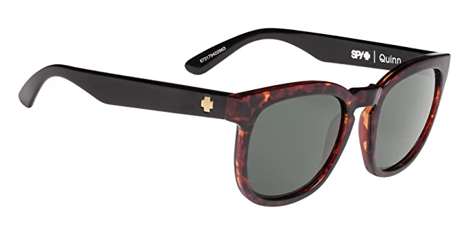 6a334397136 Spy Quinn Sunglasses - Polarized - Women s Alana Dark Tort Black Happy Gray