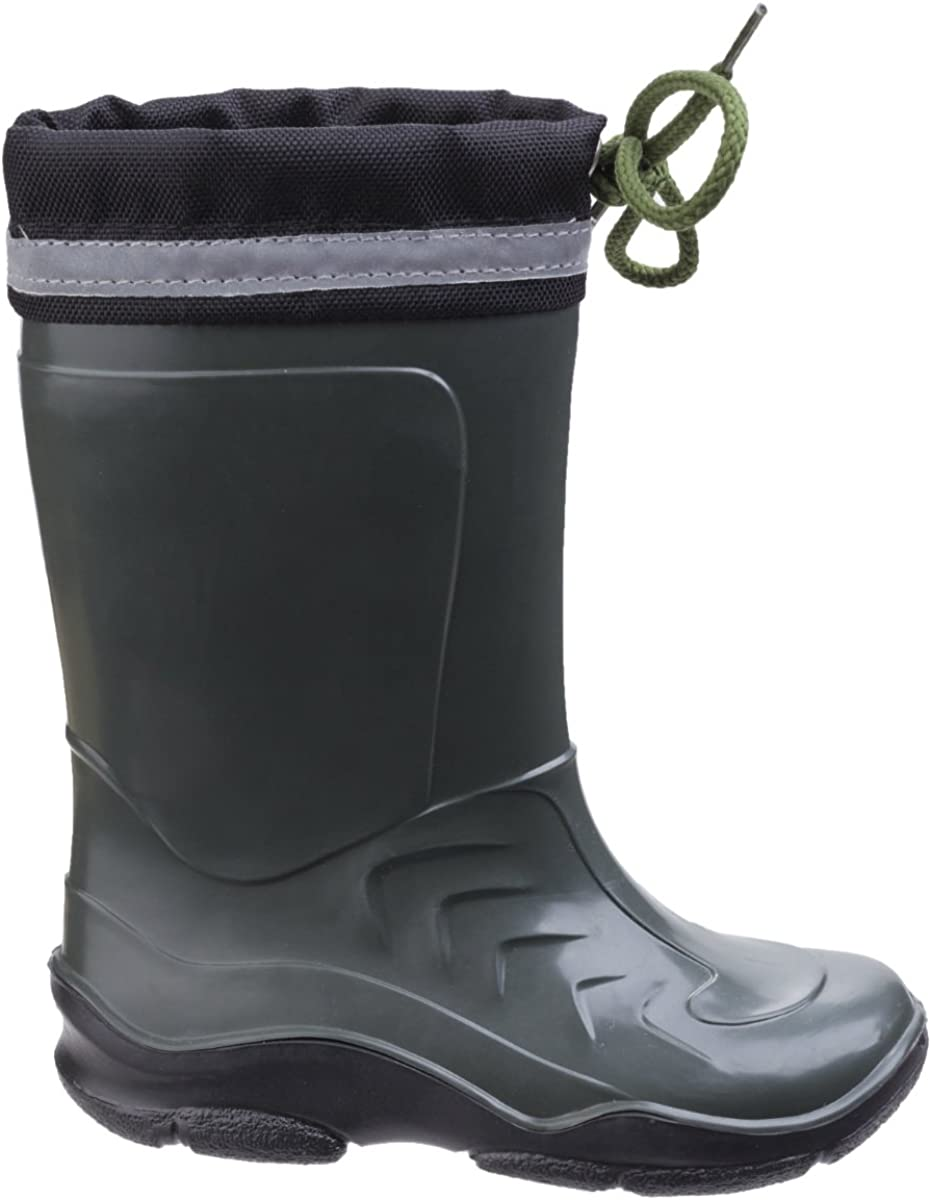 Cotswold Fleece Lined Kids Wellies with