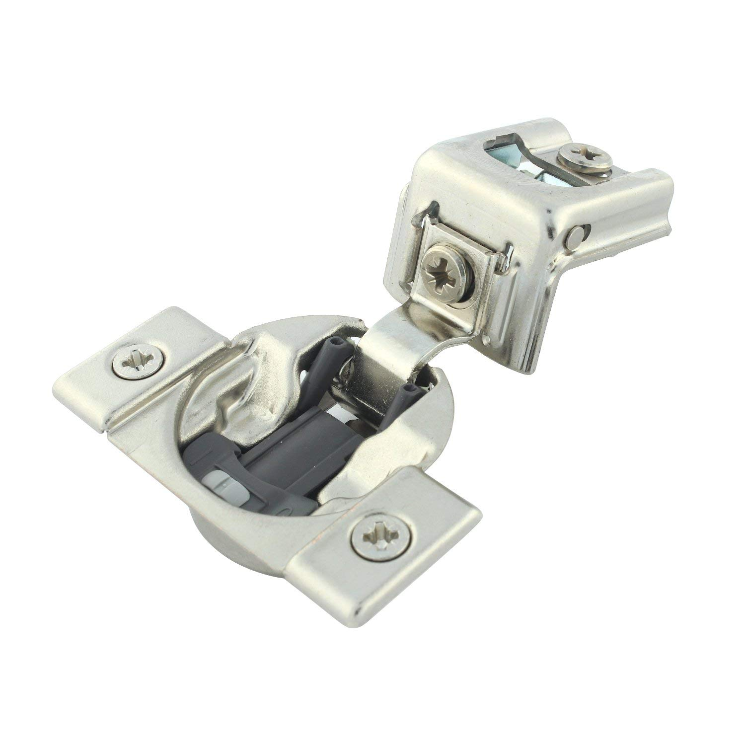 Blum Compact 39C Series otion 1-1/4-inch 110-degree Overlay Press-in Self-Closing Cabinet Hinge (Case of 20) by Blum (Image #3)