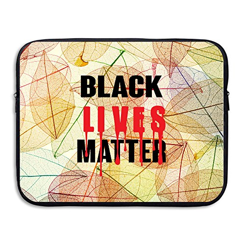 ZOENA BLACK LIVES Anti-shock Notebook Sleeve Cover Bag 13-15 Inch - Fire King Laptop