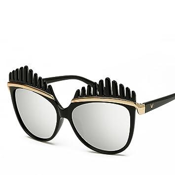 GUO Gafas de Sol Gafas de Sol de Moda Moda Personalidad E ...