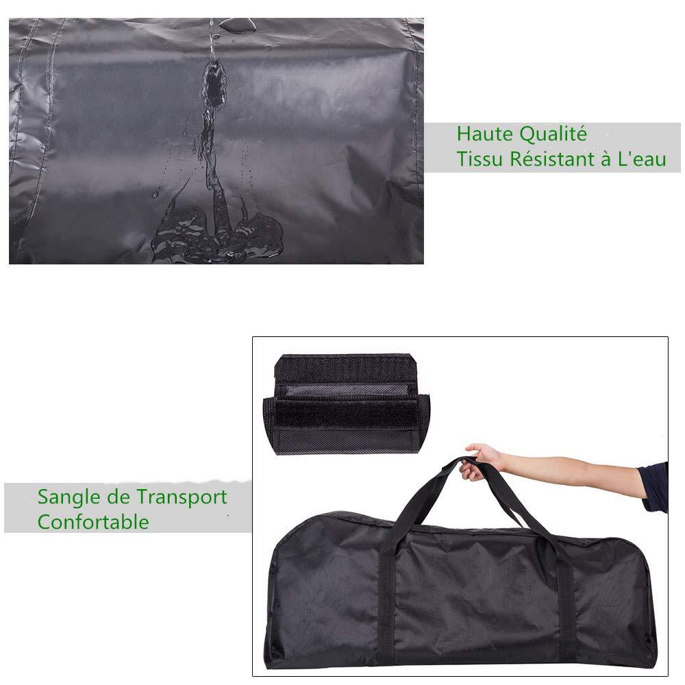 Amazon.com: Lixada portátil paño de Oxford bolsa de moto ...