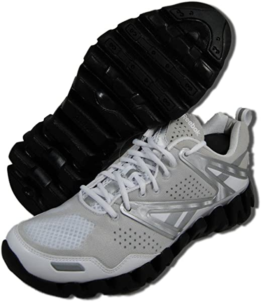 45f601514d8d Zigtech Zig Return Mens Running Shoes. Reebok ZIGRETURN MENS Sneakers  STYLE 1-V50431   WHITE STEEL SILVER